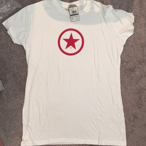 speical offer the best factory authentic Women's Converse T-Shirt NWT